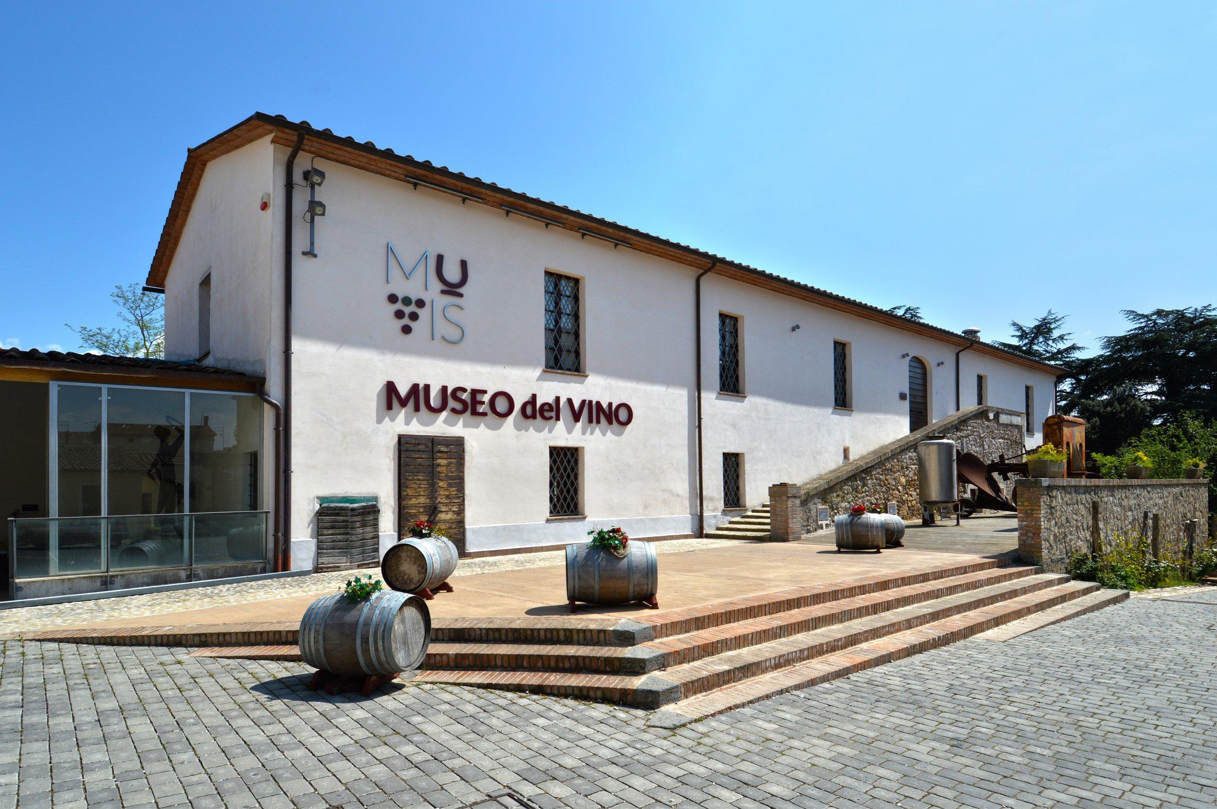 MUVIS Museo del vino Castiglione in Teverina